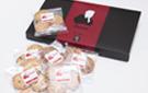 太宰ロゴ入りクッキー