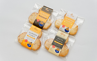 たかじょうくんのナッツクッキー